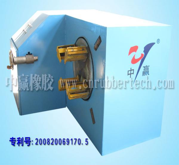 Waste tire disposal processing plant