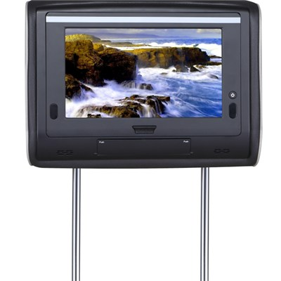 9inch Car TFT LCD Monitor with Headrest Frame in White