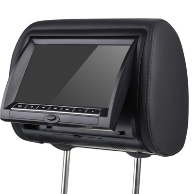 9 HD LED Headrest Monitor with Slot in DVD Player Pillow
