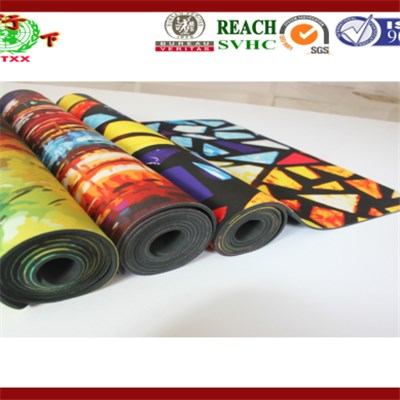 Digital Printed Yoga Mat
