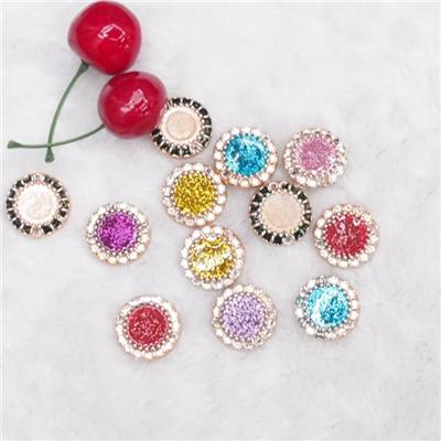 Rhinestone Garment Accessories metal crystal trims