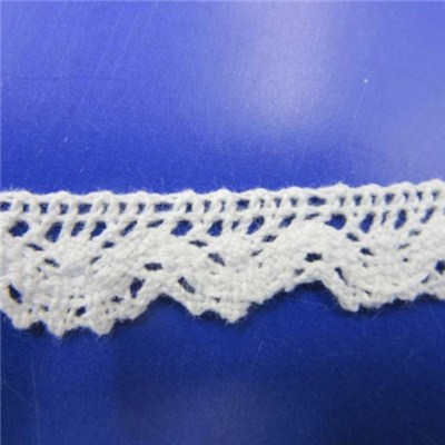Vintage Cotton Scallop Lace Trim Wedding Bridal Ribbon Applique DIY Sewing Craft