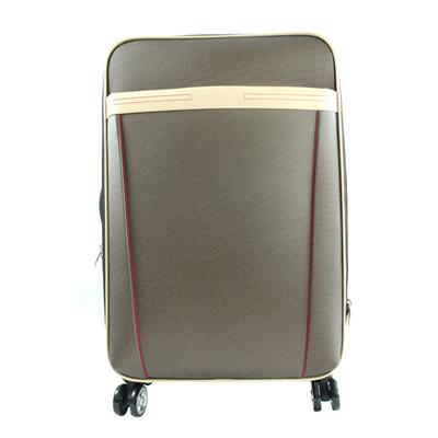 28 Inch PVC Leather Luggage Each Care Leather Bag Spinner Rolling Luggage