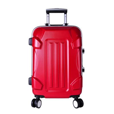 3D Look Designer Travel Suitcase Luggage Sets with Mesh Duffel Bag Inside