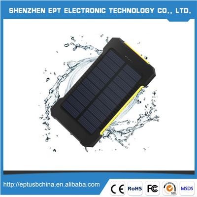 PBS11 Best Price Waterproof Solar Power Bank For Mobile Charging Price