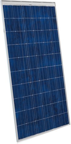 Polycrystalline silicon pohovoltatic module - solar panel