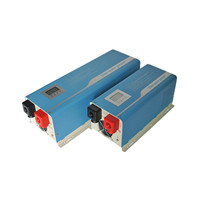 Pure sine wave inverter with built-in AC charger and UPS
