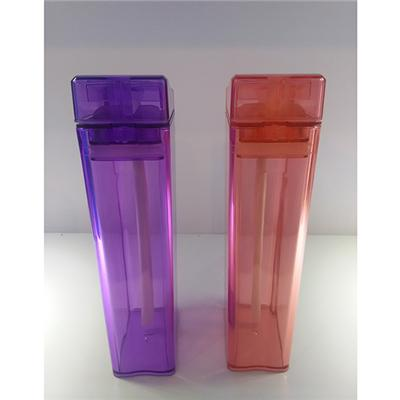 Wholesale Promotional Water Bottles TT-1409 12OZ AS Juice Tumbler Flat Drinking Water Bottle