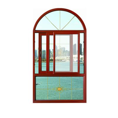 Custom Design Aluminum Sliding Window With Mosquito Screen