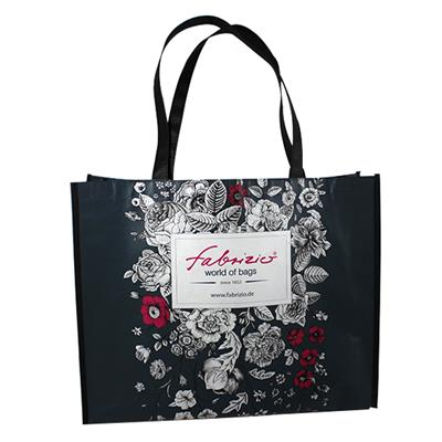 Custom Laminated PP Woven Cloth Bag For Shopping