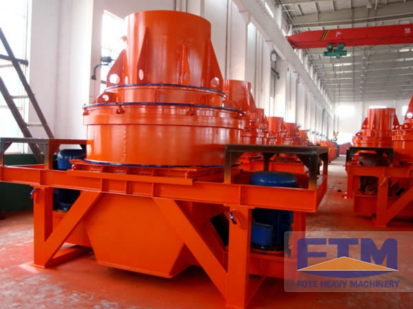 VSI crusher Sand maker/Artificial Sand Making Machines/Impact Sand Crusher