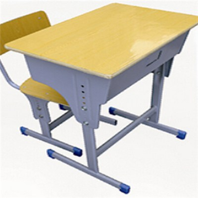 Cheap Plastic Adjustable Height Children Desk And Chair Set