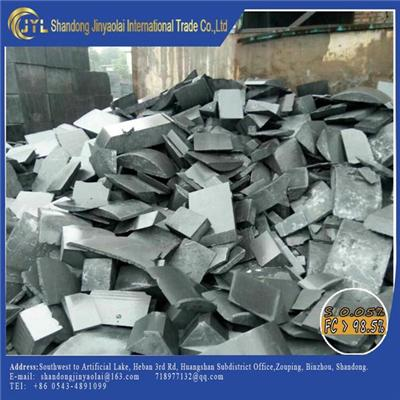 Graphite Electrode Scraps With Different Size Full Shape For Produce Electrode