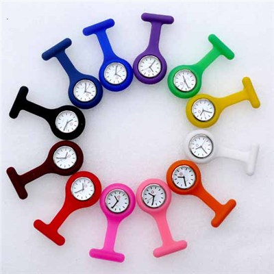 Silicone Nurse Watches With Date Function