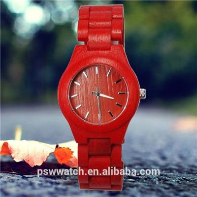 New Fashion Colorful Pure Bamboo Watches For Ladys