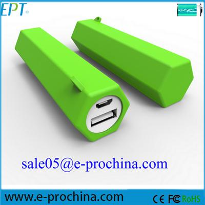 EP078-4 Fashion Green Portable Wireless Power Bank 2600mah Best Universal Mobile Charger (EP078-4)