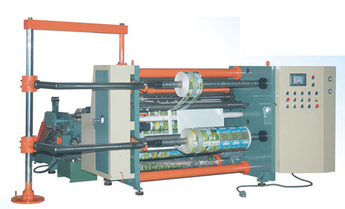 slitting machine, slitter and rewinder