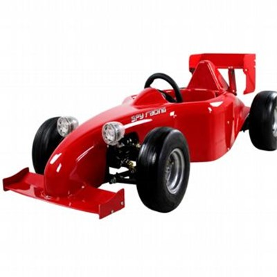 48v,750w Brushless Motor Battery Racing Go Kart For Kids 6+ Years