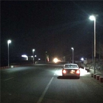 SC-NH50 160lm/w bridgelux led chip whole lamp 2100lm All in One Design Integrate LED Solar Street Light