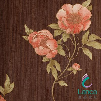 New Design Latest Design Deep Embossed Study Room Pvc Wallpaper LCPE0749404