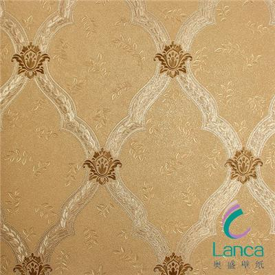 Colored Home Interior Wall Decorations PVC Wallpaper For Sale LCPH0980075