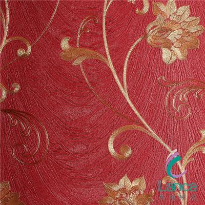 China Suppiers Interior Wall Art Panels Embossed Design Pvc Wallpapering LCPE0735606