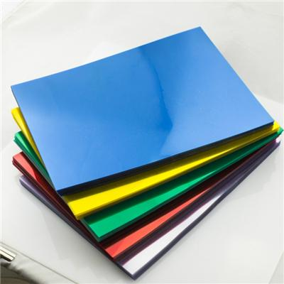PVC Binding Cover Made of 100% PVC Rigid Sheet