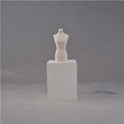 New Design Jewelery Display Mini Fabric Covered Mannequin Forms For Sale