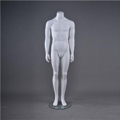 Headless Adult White Male Mannequin