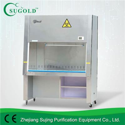 100% Exhaust Stainless Steel Class II Biologica Safety Cabinet