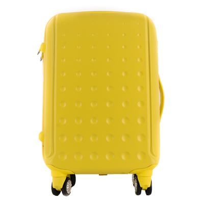 Bright Yellow-travel Luggage