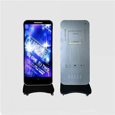 55 Inch P2.5 Floor Standing LED Advertising Player