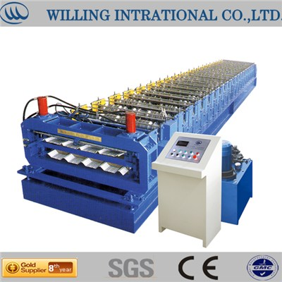Dual Level Roll Forming Machine