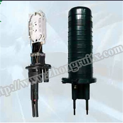 2in 2out Max Capacity 96 Dome Fiber Optic Splice Closure