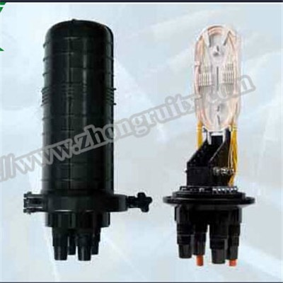 2in 2out Max Capacity 432 Dome Fiber Optic Splice Closure