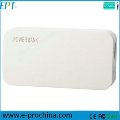EP022-3 China Manufacure 5600mah External Battery Charger Portable Power Bank
