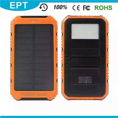 NP-009 Good Looking Rohs Solar 10000mAh Power Bank External Battery