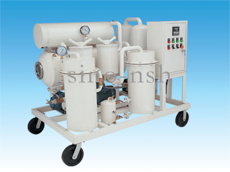 waste turbine oil recycling oil treatment oil cleaner machine