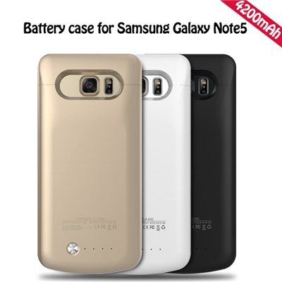 4200mAh Real Capacity Backup Battery Charger Case For Samsung