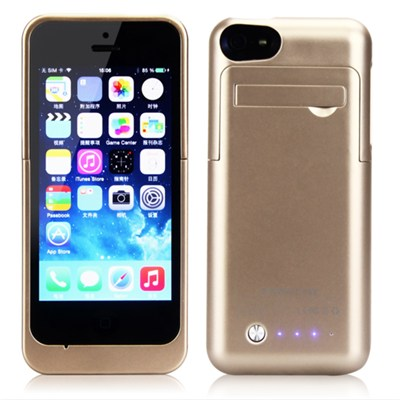 2200mAh Real Capacity Backup Battery Charger Case For Iphone