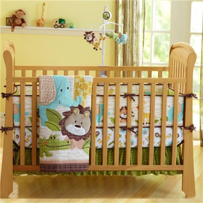 Lion King Monkey Crib Nursery Bedding Set With Jungle Collection