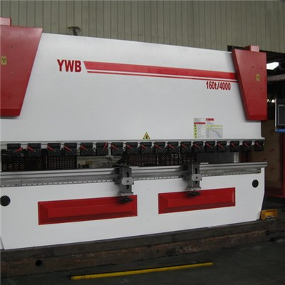 4m Yawei 8 Axis CNC Press Brake Machines