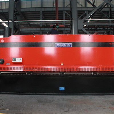 6M Large Metal Guillotine Shearing Machines