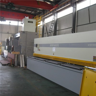 6m Big Sheet Metal Shearing Machines