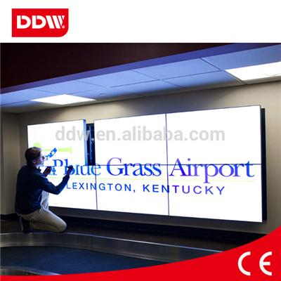 46inch Indoor bezel width 6.7mm Advertising Video Wall  High brightness,high contrast,High gamut