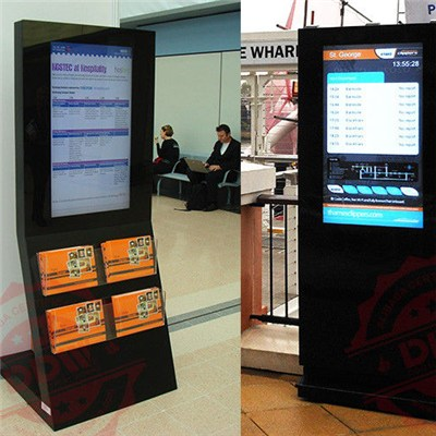 60 Inch Maximum Resolution 1920x1080 Interactive Digital Signage Advertising Multi Touch Kiosk DDW-AD6001SNO
