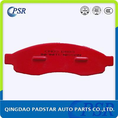Brake Pad D1183 For Jeep