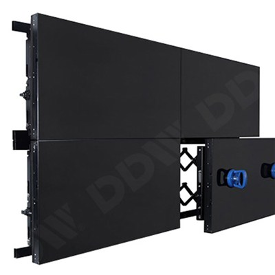 55 Indoor Easy Maintenance Lcd Front Access Hydraulic Video Wall Rack Max  Resolution 1920x1080