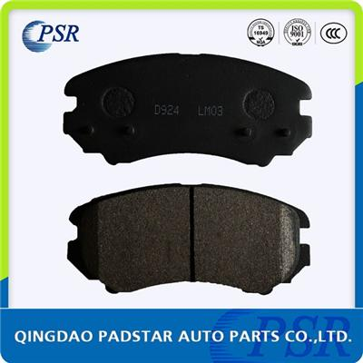 Car Brake Pad D924 For Kia Hyundai