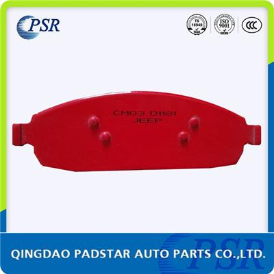 Car Brake Pad D1181 For Jeep